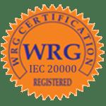 Registered WRG IEC 20000 Certified