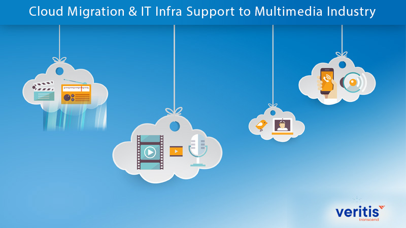 Cloud Migration & IT Infra Support to Multimedia Industry