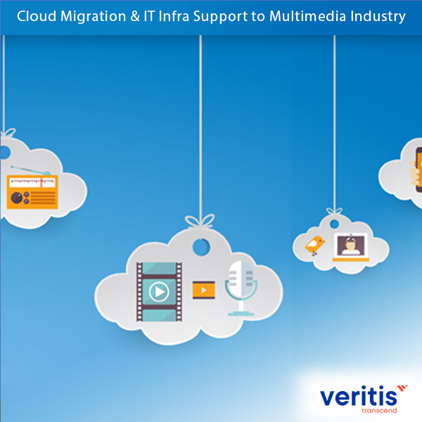 Cloud Migration & IT Infra Support to Multimedia Industry Thumb Veritis