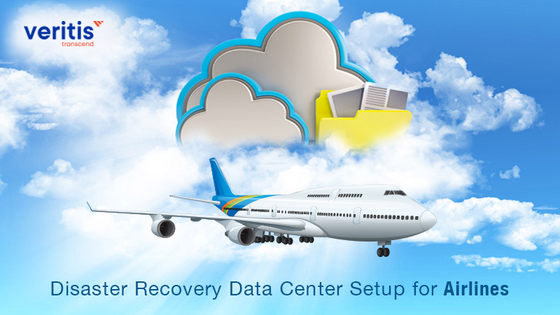 Disaster Recovery Data Center Setup for Airlines Client
