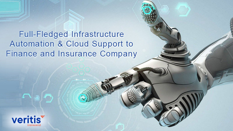 Full-Fledged Infrastructure Automation & Cloud Support to Finance and Insurance Company