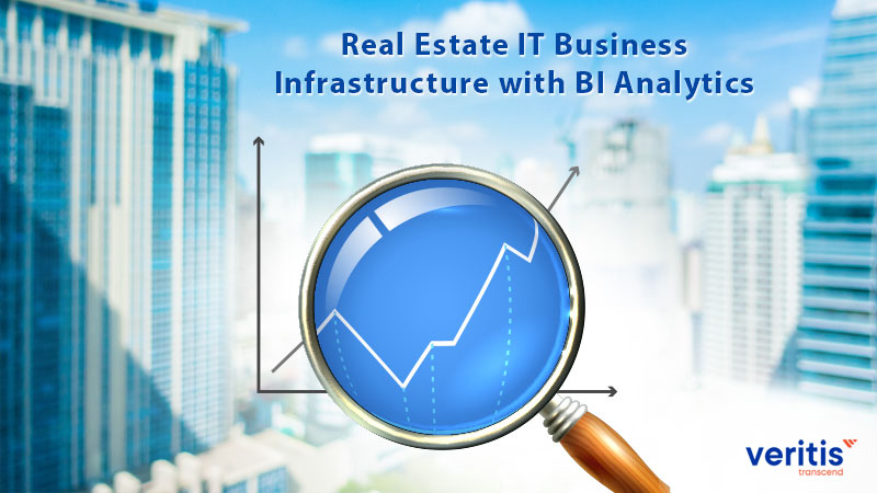 Real Estate IT Business Infrastructure with BI Analytics