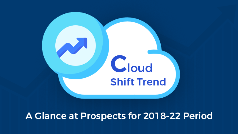 Cloud Shift Trend: A Glance at Prospects for 2018-22 Period