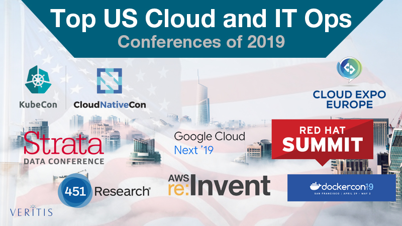 Top US Cloud Computing and IT Ops Conferences of 2019