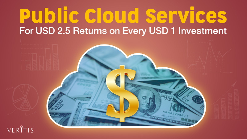 Public Cloud Services For USD 2.5 Returns on Every USD 1 Investment