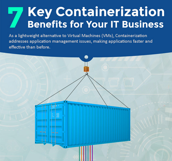7 Key Containerization Benefits for Your IT Business (Infographic)