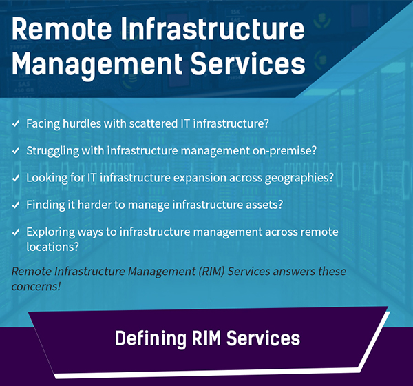 Remote Infrastructure Management Services (Infographic)
