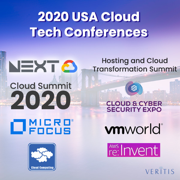 2020 USA Cloud Tech Conferences: Here are The Event Details! Thumb