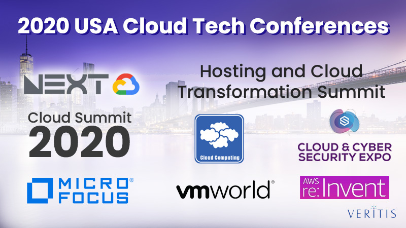 2020 USA Cloud Tech Conferences: Here are The Event Details!