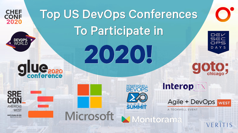 18 BEST US DevOps Conferences to Participate in 2020