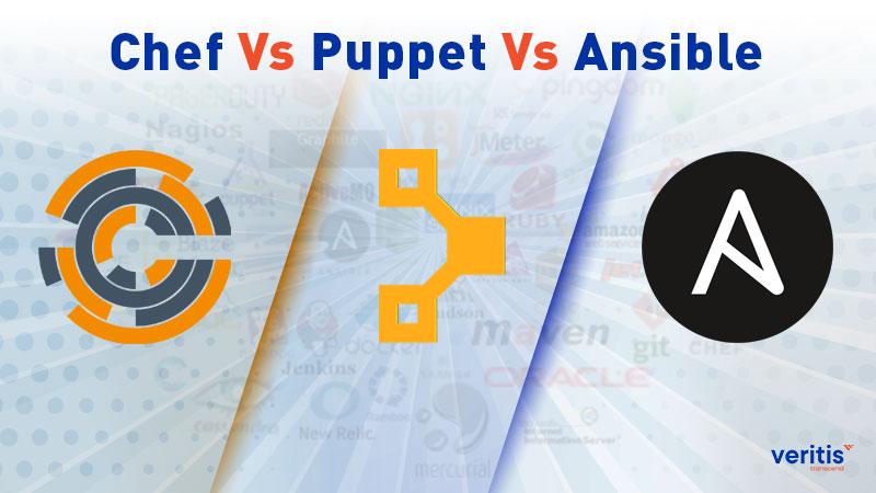 Chef Vs Puppet Vs Ansible - Comparison of DevOps Configuration Management Tools