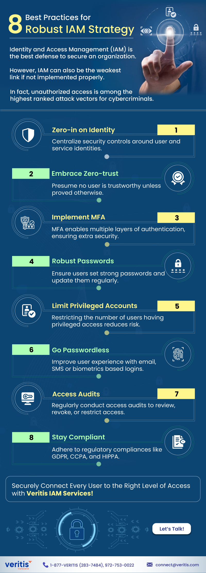 8 Best Practices for Robust IAM Strategy